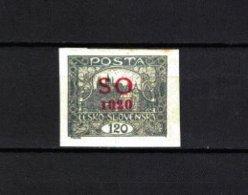 TSCHECHOSLOWAKEI , Czechoslovakia , OSTSCHLESIEN . 1920 , ** , MNH , Postfrisch , Mi.Nr. 20 A - Neufs
