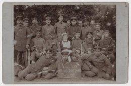 Carte Photo Allemande Germany Militaria Blessés Et Infirmières Hôpital Villa ALEXISBAD 1916 - Weltkrieg 1914-18