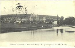 CPA DE LA CHARTREUSE DE BOSSERVILLE  (MEURTHE ET MOSELLE)  VUE GENERALE PRISE DU PONT DE LA MEURTHE - Unclassified