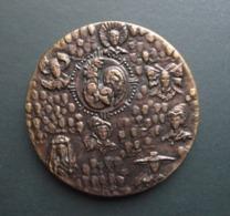 Grande Médaille  En Bronze Florentin  - Signée C. BERECHEL Pour  GPA ASSURANCES. - Autres