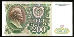 * Russia USSR 200 Rubles 1991 ! A UNC ! 94 - Russland