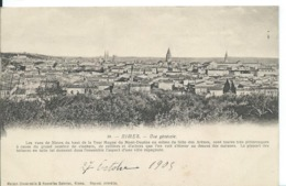 NÎMES (GARD ) VUE GÉNÉRALE CARTE DE 1905 - Nîmes