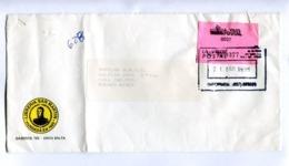 "ARGENTINA - ""LIBRERIA SAN MARTIN"" COMMERCIAL ENVELOPPE CIRCULEE SALTA A BUENOS AIRES, ANNEE 1996 LA VELOZ POSTAL  -LILHU - Briefe U. Dokumente"