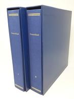SET Aus 2 X SCHAUBEK Schraubendecke Mit Kassette Blau Gebraucht (Z1851) - Albums & Bindwerk