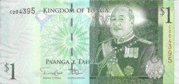TONGA 1 PA'ANGA ND2014 UNC P 37 B - Tonga