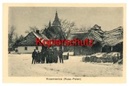 Krzemienica Ca. 1916 Bei Rawa Mazowiecka, Tomaszow Mazowiecki - Pologne