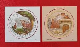 Österreich/Austria 2011; Animals & Fauna; Deer; Forest, Birds; Joanneum Museum; MNH** Neuf; Postfrisch! - 1945-.... 2nd Republic