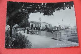 Lago Di Garda Brescia Salò Veduta Con Piroscafo Verona 1954 - Brescia