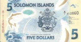 ILES SALOMONS 5 DOLLARS ND2019 UNC P 32 - Salomonseilanden