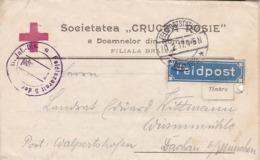 Feldpost Societatea Crucea Rosie - Braila - Bayr. Feldlazarett 10 B. Türk. A.K. - Stempel Feldlazarett 5 - 1917 (44463) - Cartas
