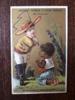 L25/11 Chromo Chocolat Payraud. Qui Est Le Premier Homme Du Monde? - Other