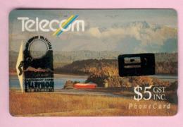 New Zealand - Private Overprint - 1993 Canterbury Telethon $5 - FU - NZ-PO-23 - Nuova Zelanda