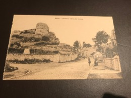 MOHA  -  Ruines Du Chateau Ste Gertrude   (Wanze) - Wanze