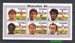 Uganda 1994 Mi 1333-1338 MNH ( ZS4 UGNark1333-1338 ) - Coupe Du Monde