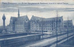 Passy Froyennes, Vue Générale Du Pensionnat, Prise De La Route De Tournai (pk62237) - Doornik