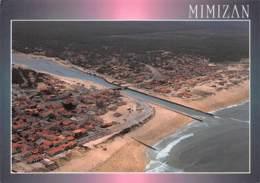 MIMIZAN  Vue D'ensemble Avec Le Courant     33 (scan Recto Verso)MH2950 - Mimizan