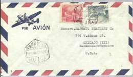 CARTA 1952  CORREO AEREO  MALAGA - 1931-Hoy: 2ª República - ... Juan Carlos I