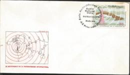J) 1976 CARIBE, XV ANNIVERSARY OF INTERNATIONAL BROADCASTING, MAP, FDC - Otros