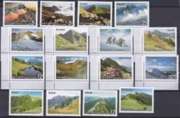 "Taiwan-Rep. China 1956, ""Mountains Of Taiwan"", 4 Series Unmounted Mint - 1945-... Republiek China"