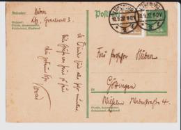 De Hübner à Frau Professor Hübner In Gottingen. 1927. - Germania