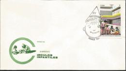 J) 1976 CARIBE, XV ANNIVERSARY CHILDREN'S CIRCLES, FDC - Otros