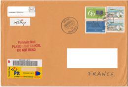 Turquie 2009 Emission Commune Conseil Europe Lettre Recommandée Turkey European Council Joint Issue Registred Letter - Emissions Communes