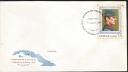 J) 1976 CARIBE, CENTENARY OF DEATH 1876-HENRY M REEVE 1976, EL INGLESITO, FDC - Otros