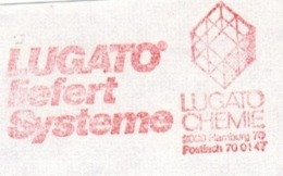 EMA FREISTEMPEL METER LUGATO CHEMIE CHIMIC CHIMICA HAMBURG 1979 - Chemistry