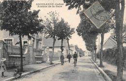 Aigurande Avenue De La Gare Vélo Cyclisme - France