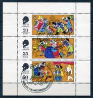 DDR Michel-Nr. 2096-2098 Kleinbogen Vollstempel - Blocchi