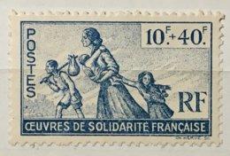 Colonies Françaises émissions Générales YT 66 (**) 1943 œuvres De Solidarité Française (côte 6 Euros) – 178s - France (former Colonies & Protectorates)