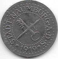 *notgeld   Naumburg 10 Pfennig 1919  Fe  356.1a - [ 2] 1871-1918 : German Empire