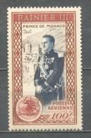 1950 MONACO 100F. PRINCE RAINIER III ACCESSION MICHEL: 415 MNH ** - Monaco