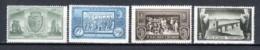 Romania 1933 Mi 458-461 MNH - 1918-1948 Ferdinand, Charles II & Michael