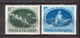Romania 1955 Mi 1528-1529 MNH SPORTS - 1948-.... Republics