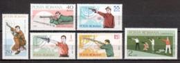 Romania 1965 Mi 2407-2412 MNH SPORTS - Unused Stamps