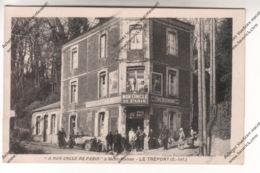 """Lot 2 CPA LE TREPORT (76) : Café Restaurant """"A Mon Oncle De Paris """" à Mont-Huhon Et Escalier De La Falaise - Le Treport"""