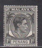 PENANG Scott # 3 MH - KGVI - Penang