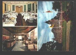 Genk - Restaurant Kasteel Bokrijk - Multiview - Reclame Kaart / Visitekaartje, Geplooid In Het Midden - Genk