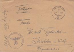 Feldpost FP Nr. 20175 Nach Iserlohn - 1942 (44475) - Alemania