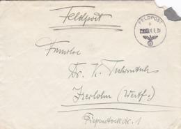 Feldpost FP Nr. 29132 Nach Iserlohn - 1939 (44476) - Alemania