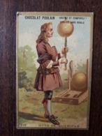 L25/18 Chromo Chocolat Poulain . Otto De Guericke - Poulain