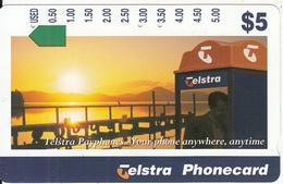 AUSTRALIA - Telstra Payphones/Sunset, Used - Telefoni