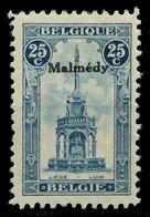 BELGISCHE BES.-POST MALMEDY Nr 16 Ungebraucht X8C3452 - Occupation 1914-18
