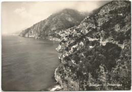 W5280 Positano (Salerno) - Panorama / Viaggiata 1952 - Italia