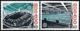 Série De 2 Timbres-poste Gommés Neufs** - Europa Architecture Moderne - N° 1565-1566 (Yvert) - Monaco 1987 - Monaco