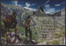 Spain (2019) - Block - /  Heritage - Natural Park Covadonga - Mountains - Geology