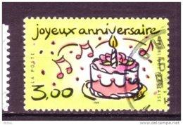 ##4, France, Anniversaire, Gâteau, Bougie, Chandelle, Candle, Cake, Birthday, Alimentation, Musique, Music - Gebraucht