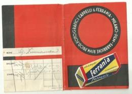 """5638 """"PORTANEGATIVI FOTOGRAFICI-FABBR. RIUNITE PROD. FOTOGRAFICI CAPPELLI & FERRANIA"""" ORIGINALE - Supplies And Equipment"""