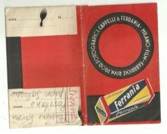 """5639 """"PORTANEGATIVI FOTOGRAFICI-FABBR. RIUNITE PROD. FOTOGRAFICI CAPPELLI & FERRANIA"""" ORIGINALE - Supplies And Equipment"""